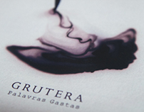 """Palavras Gastas"", Grutera | Album Artwork"