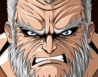 WOLVERINE OLD MAN LOGAN ART PRINT