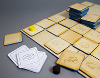 FOOD MAZE - board game