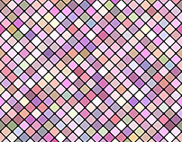 128 Seamless Diagonal Square Pattern Backgrounds