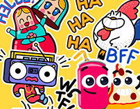 Typany app stickers packs