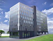 Office Building (3d Modeling & Visualization)