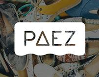 PAEZ SHOES BRANDING