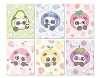 【熊猫软团子】夏天水果季(一)
