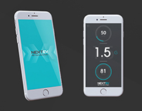 NextEV App UI Design - 2D and 3D Motion Graphics