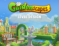 Gardenscapes Level Design