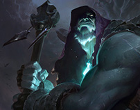Yorick - League of Legends - Login Screen
