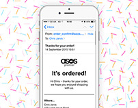 ASOS Transaction Email