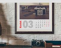 Calendario Kodak
