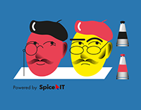 Illustrations for Spice IT Recruitment / Part 2