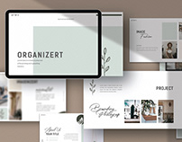 Free Organizert Presentation Template