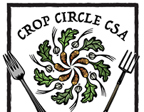 Crop Circle CSA (Branding/Marketing Project 2018)