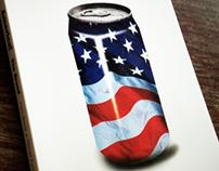 Book Cover, America! The Brand