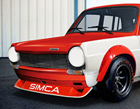 Simca 1100 Trans-Am Series 1970