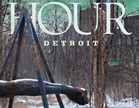 Hour Detroit Magazine - Cover & TOC