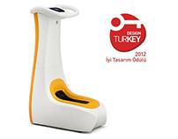SANIMAX Electronic Shoecover Dispenser