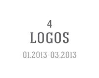 4 Logos - 01.2013 - 03.2013