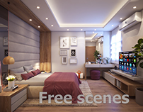 Master Room Free Scenes