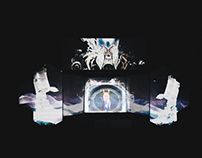 Holographic Projection Mapping