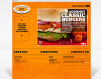 GOURMET BURGER GRILL WEBSITE