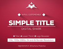 12 Simple Titles | Free Template