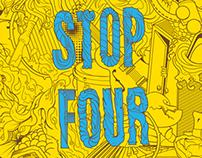 Stop Four - T-shirt