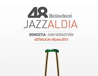 Cartel 48 Heineken Jazzaldia San Sebastián