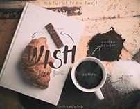 Wish Natural Font