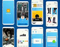 myShop, an e-commerce app