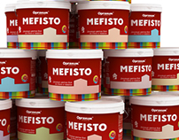 Mefisto Interior paints labels