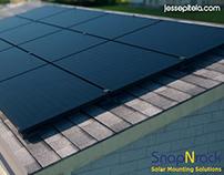 Solar Panel 3D Animation Visualization