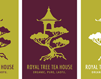 Royal Tree Tea House Branding