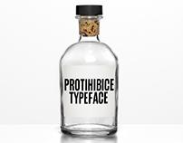 Protihibice | typeface specimen