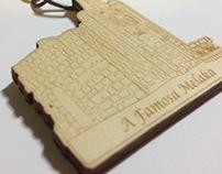 Keychain design for Jonker Gallery