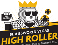 "Blackboard/BbWorld Vegas ""High Roller"""