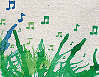"""Afiche """"Musica para los barrios"""""""