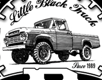 Little Black Truck Branding