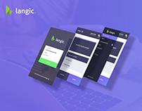 langic. - mobile app