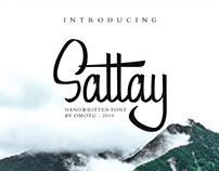 Free Sattay Handwritten Font