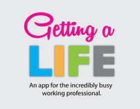 Getting A Life iOS mobile app design