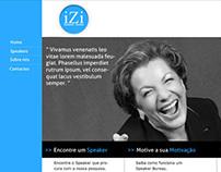 Website Design for Speaker agency