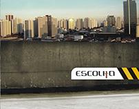 CD GRUPO ESCOLHA Criação arte do encarte/CD