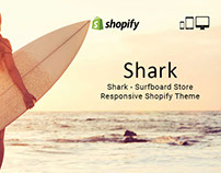 Shark – Surfboard Store Responsive Shopify Theme