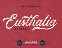 Eusthalia Typeface | Free Download
