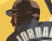 Michael Jordan-Birmingham Barons