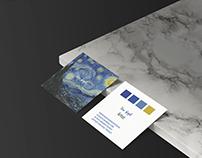 Business card of Van Gogh