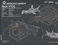 Quin Jet VTOL(Vertical Take-Off/ Landing) Fan Art