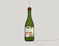 3D Project : Coconut Vinegar Bottle 2017