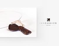 Iva Carrizo Joyas | Isologotipo / Papelería / Etiquetas