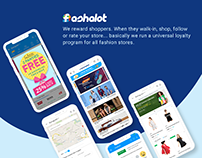 Fashalot Mobile App,search, Home page, category page